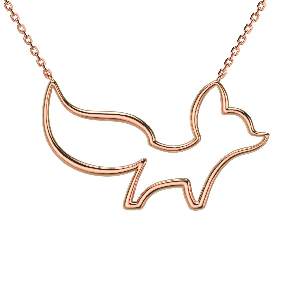 小狐狸项链